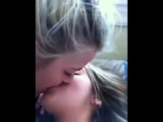 Lesbian teen kissing homemade (compilation)